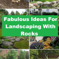 Fabulous Ideas For Landscaping With Rocks