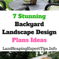 Backyard Landscape Design Plans Ideas