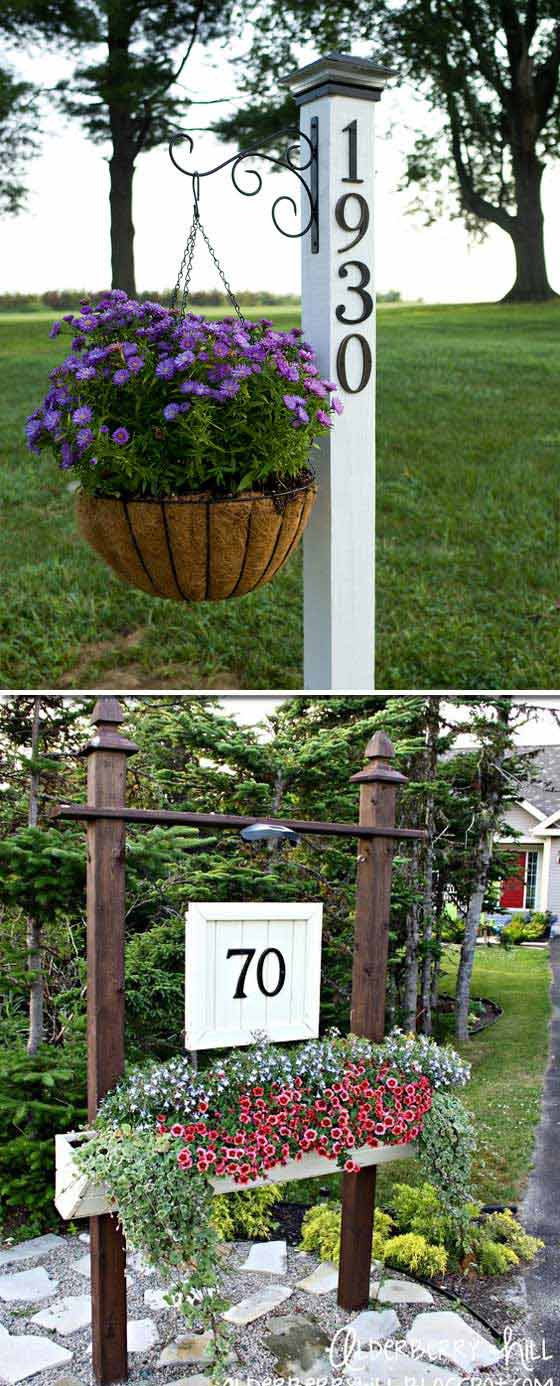 24 Amazing Ways To Power Up Your Homes Curb Appeal On a Budget