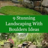 9 Stunning Landscaping With Boulders Ideas